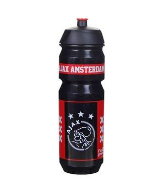 AJAX Bidon Zwart Rood Amsterdam