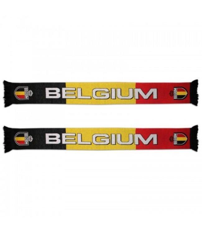 Belgie Sjaal Rood Zwart Geel