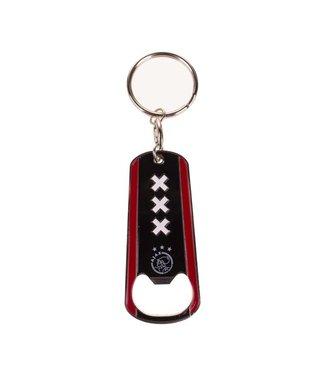 AJAX Sleutelhanger opener Zwart rood logo