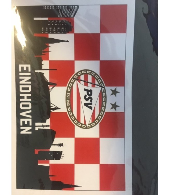 PSV Vlag Mega Skyline  250 x 150 cm