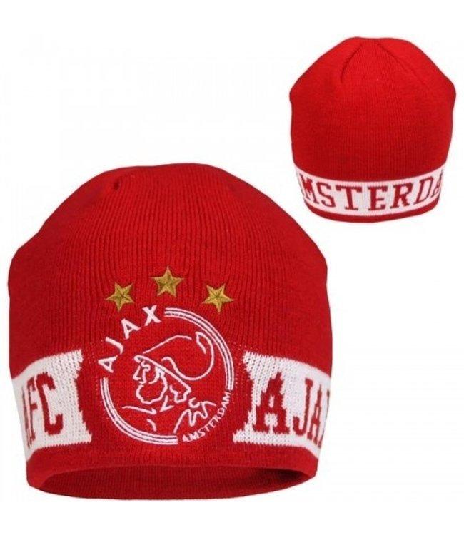 AJAX Muts Amsterdam Rood Logo SR