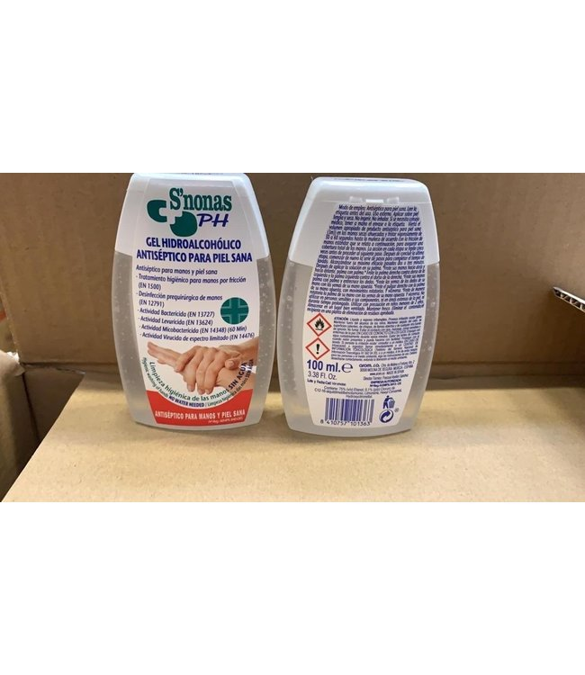 S'nonas Anti Bacteriële handgel 100 ml