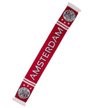 AJAX Sjaal Rood Oud Logo Amsterdam