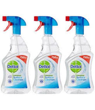 Dettol Anti Bacteriële Oppervlakte Spray 750ML