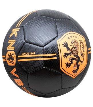 KNVB Voetbal Zwart Carbon met logo
