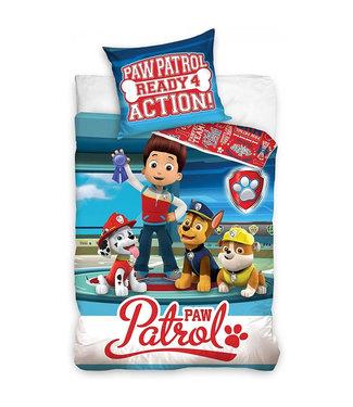 PAW PATROL Dekbedovertrek Ready Action 988