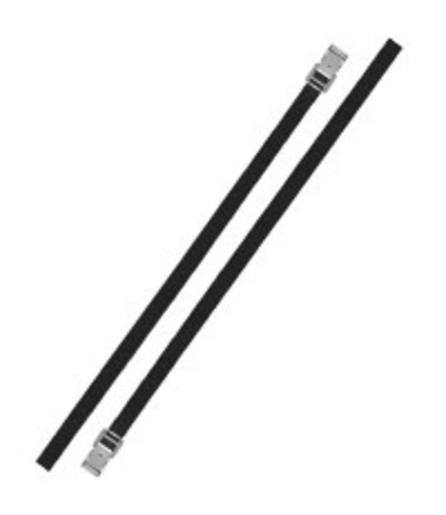Bindriemen met metalen gesp 18mm-200cm set van 2 stuks