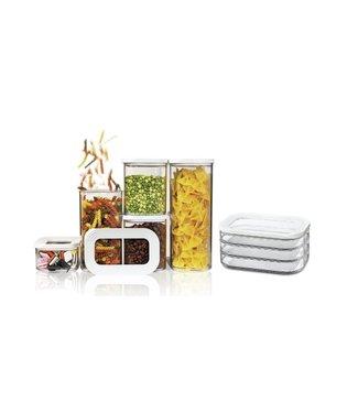Mepal starterset Modula Bewaardoos - 6-delig - Wit - Vlees