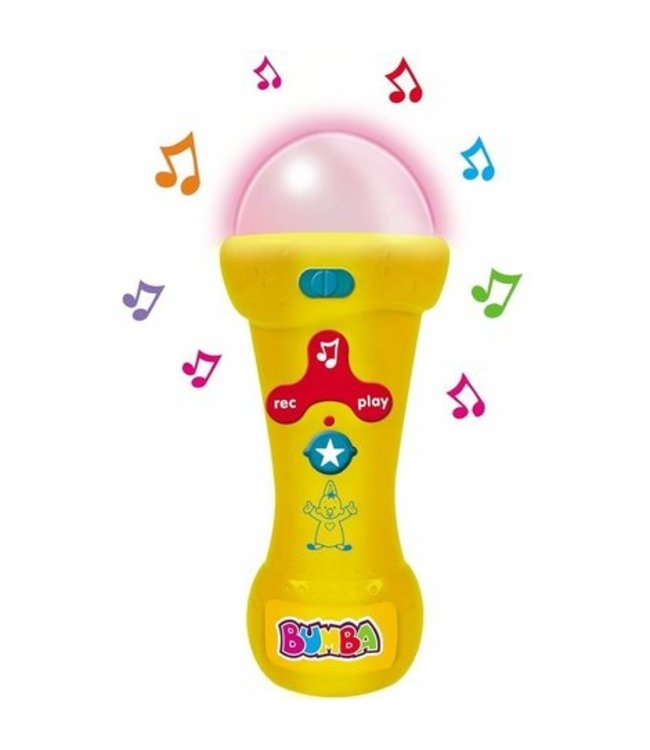 BUMBA Mijn eerste microfoon
