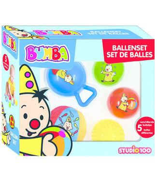 BUMBA Ballenset : 5 stuks