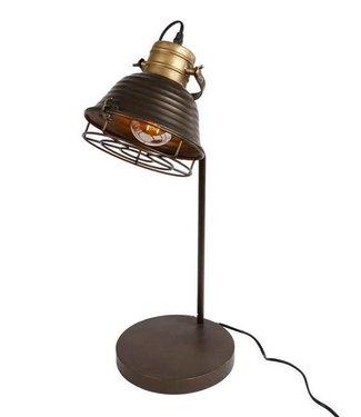 Bureaulamp Metaal 22x25x61cm