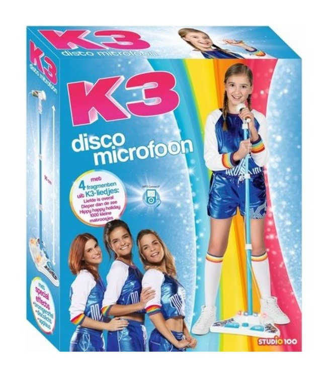 K3 Microfoon rollerdisco ( 025)
