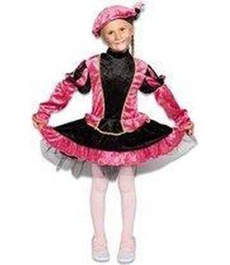 Pietenpak - jurkje met petticoat roze