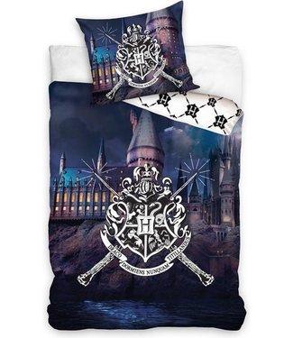 Harry Potter Hogwarts Castle Dekbedovertrek 140x200 cm (910)