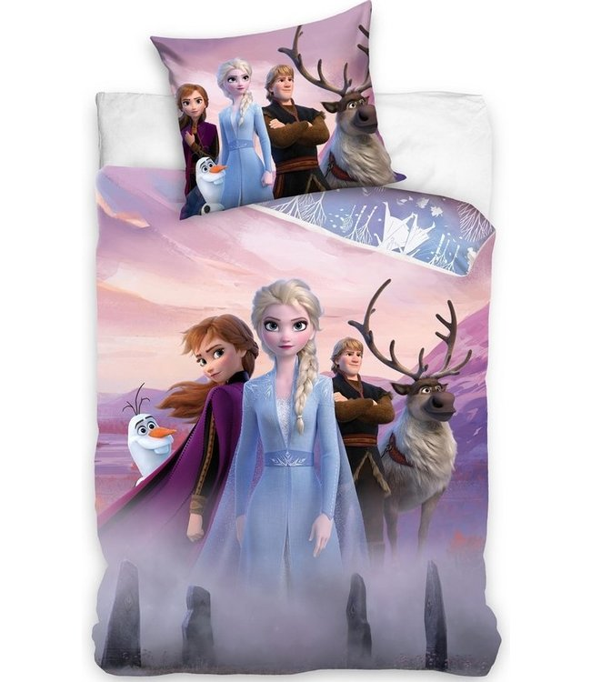 Frozen Dekbedovertrek Disney Katoen - 140 x 200 cm (266)