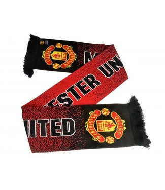 Manchester United - Sjaal - Red Devils - Zwart/Rood