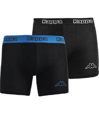 KAPPA Onderbroeken duo pack Zwart / Blauw
