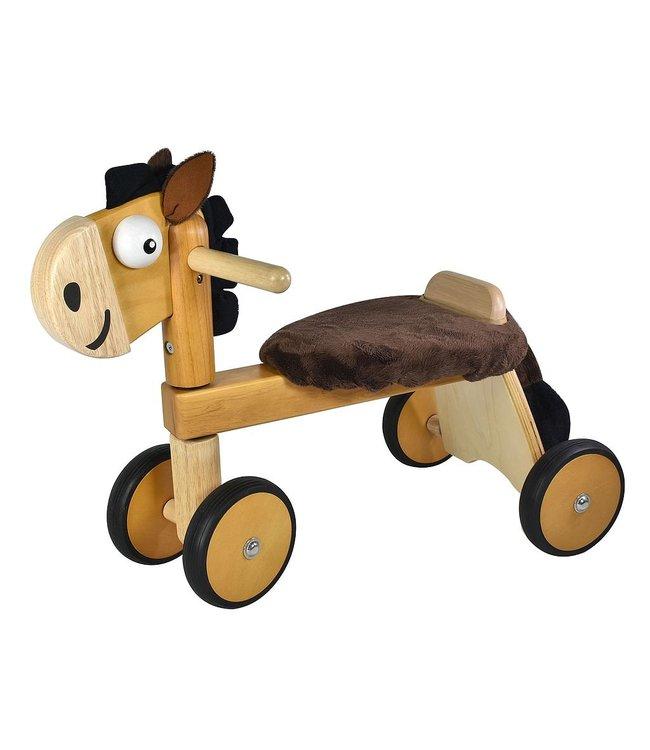 Loopfiets paard, afm. 54 x 29 x 43 cm