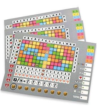 Scoreblokken Keer op Keer 2 drie stuks Level 1 Grijs - Dobbe