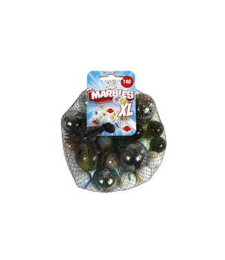 Knikkers Marbles XL Junior Glas 1000 Gram