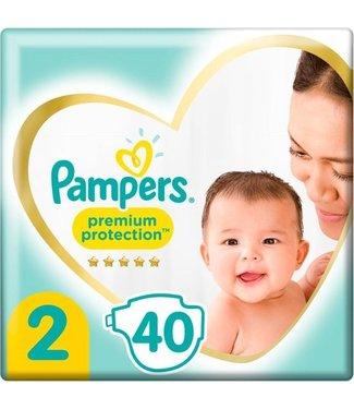 Pampers Premium Protection Luiers Maat 2 (4-8 kg) 40 stuks