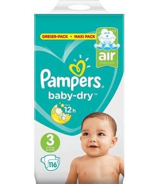 Pampers Luiers - Active Baby Dry - 116 stuks - Maat 3