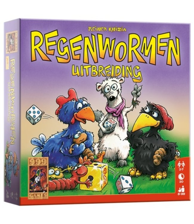 Regenwormen Uitbreiding - Dobbelspel