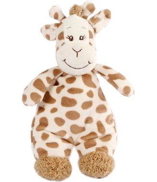 Giraffe Knuffel Met Rammelaar 20 Cm Pluche