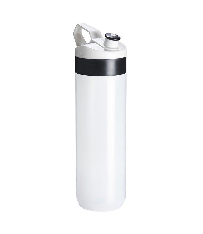 Tacx Bidon Fuse Zwart Wit 450 ml Transparant