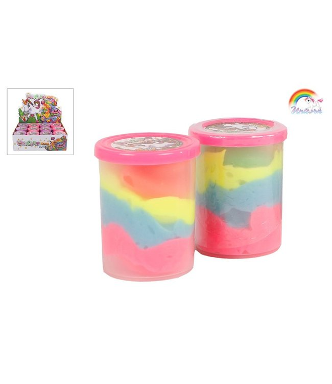 Putty rainbowkleuren unicorn 2ass