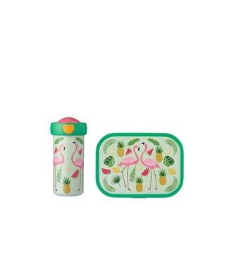 Mepal Lunchset - Schoolbeker En Lunchbox - Tropical Flamingo