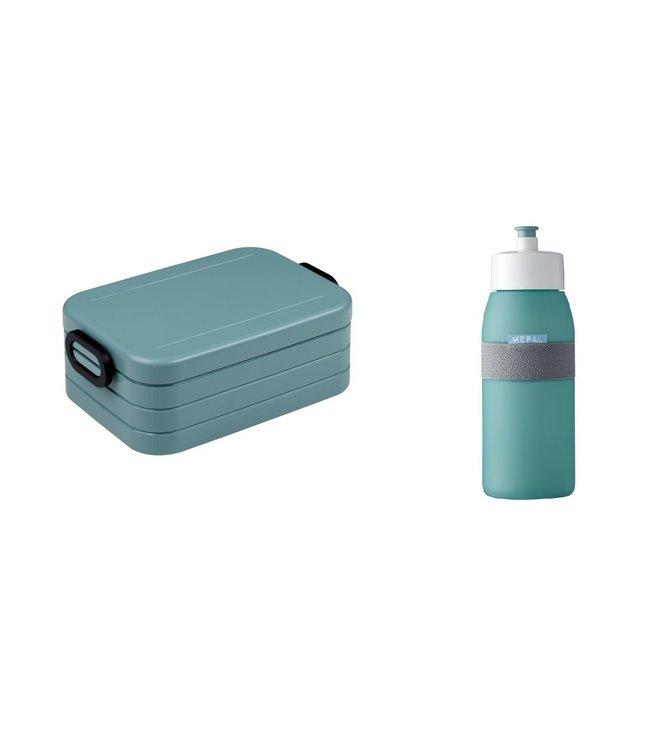 Mepal Lunchset Lunchbox & Sportbidon Groen