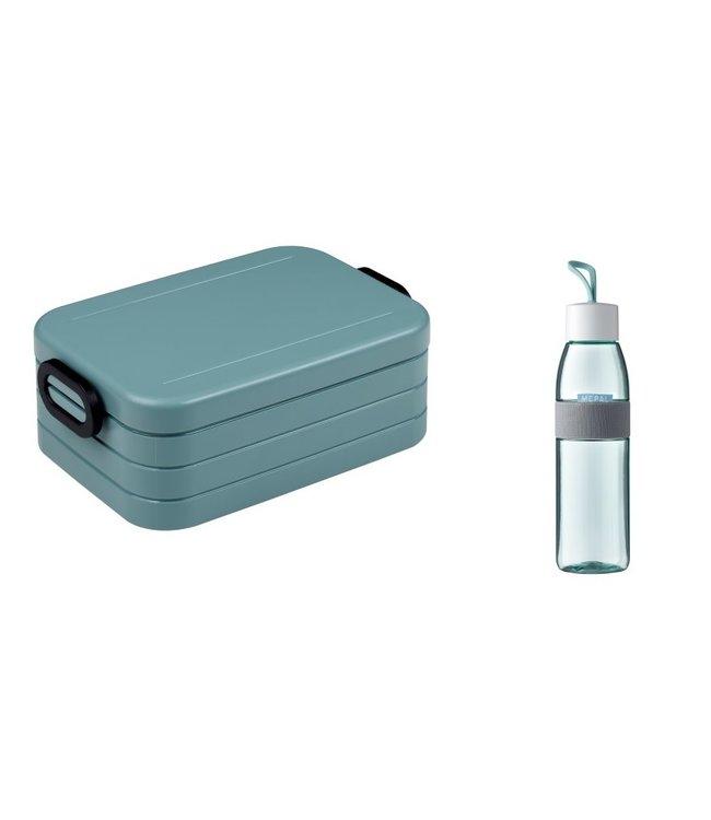 Mepal Lunchset Lunchbox + Waterfles Groen
