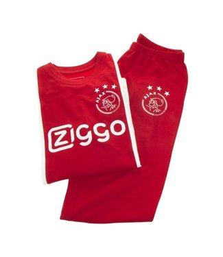 AJAX Pyjama Wit Rood Wit Ziggo 140