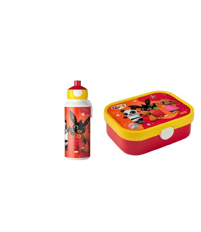 Bing Lunchset Pop-up Drinkfles & Lunchbox