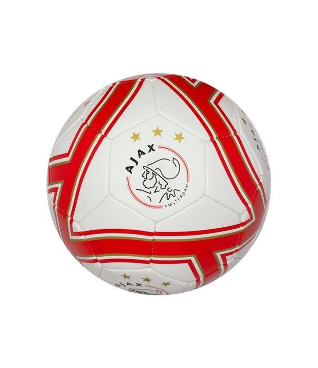 AJAX Voetbal Wit Goud Rood