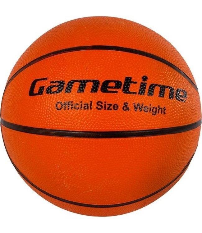 Basketbal rubber maat 7 480-520gram opgepompt