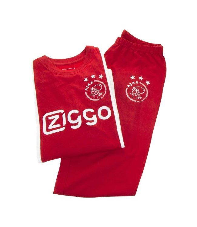 AJAX Pyjama Wit Rood Wit Ziggo 128