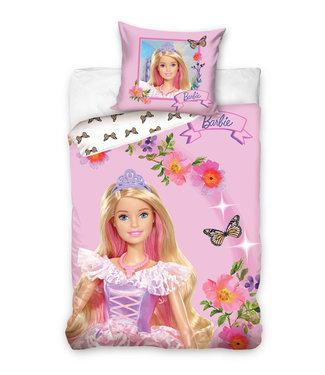 Barbie Dekbedovertrek 140 x 200 cm Princess