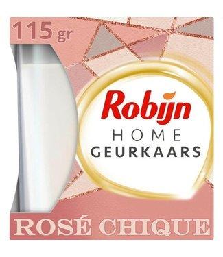 Robijn Geurkaars - Rosé Chique 115 gr.