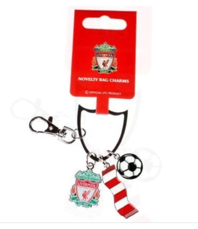 Liverpool Sleutelhanger 3 stuks