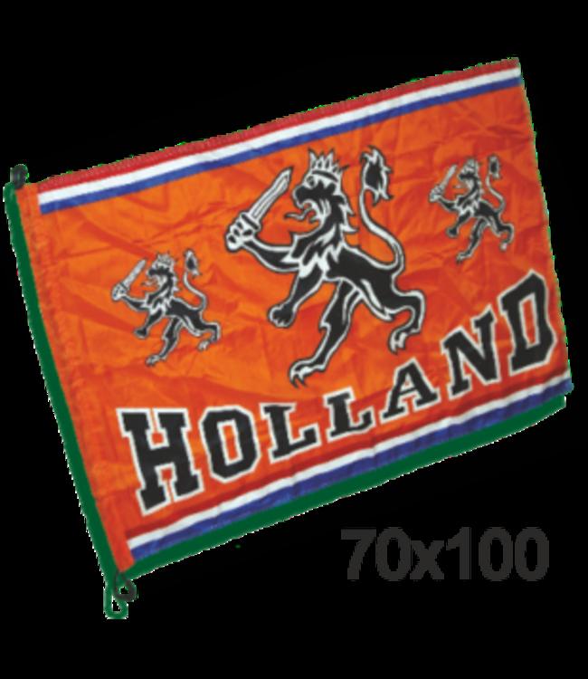 Oranje Kleine vlag oranje Holland