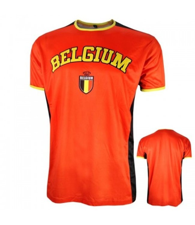 Belgie T-shirt Rood 152