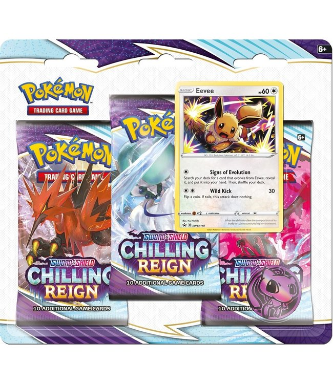 Pokémon TCG Sword & Shield 6 3-boosterblister ASSORTI