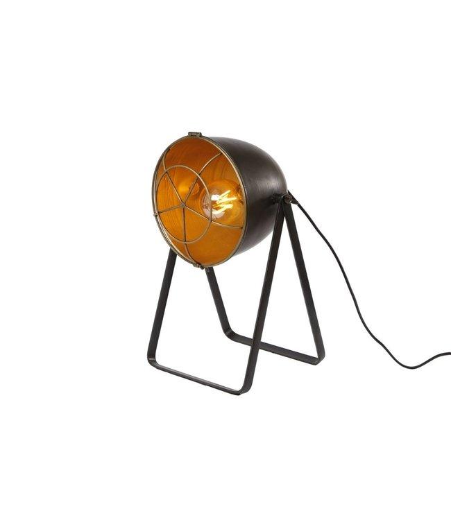 Sfeerlamp metaal 'spot' 27x23,5x42,5cm