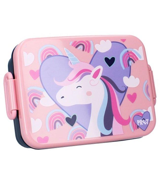 Unicorn Lunchbox Pret 16x13x5CM