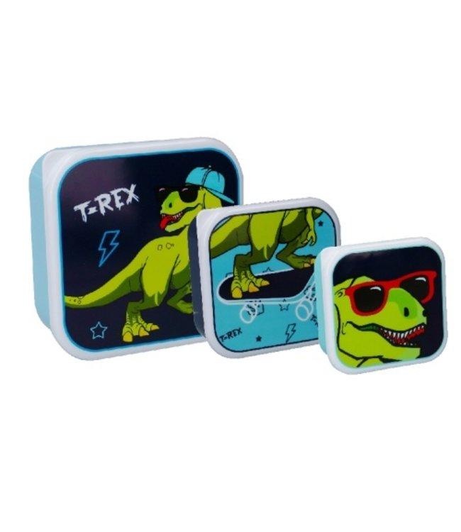 Dino Snackbox Pret Set 3 stuks