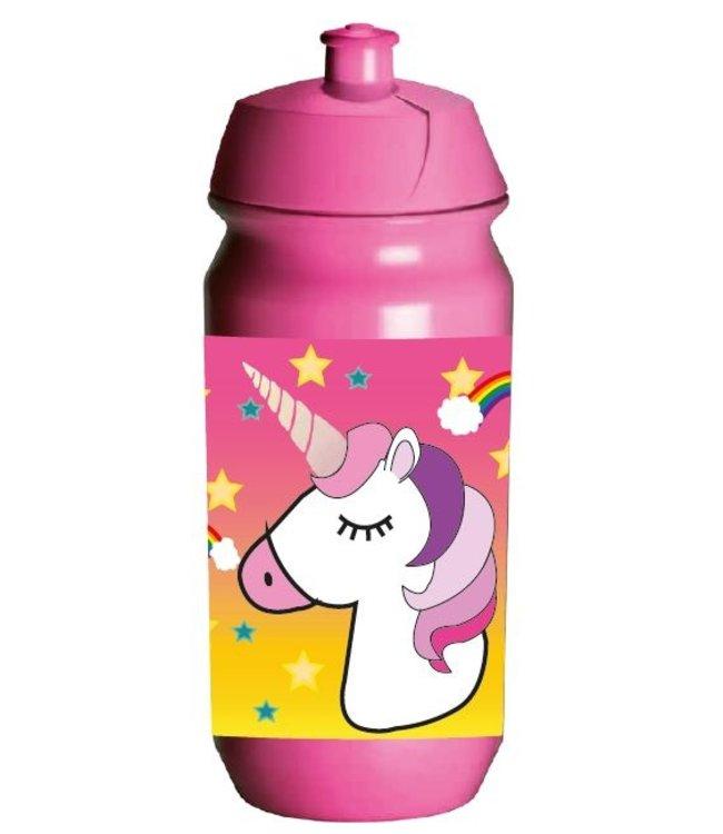 JQ JQ Eenhoorn / Unicorn Bidon - Waterfles 500 ml