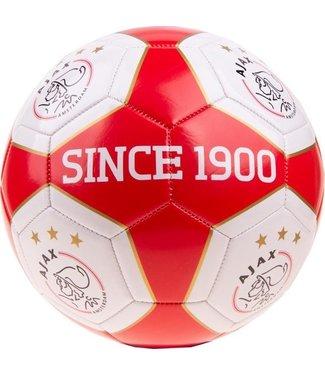 Ajax Voetbal klein maat 2 rood wit vlak AFC Ajax