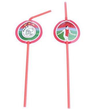 Ajax-Rietjes met logo 8 stuks